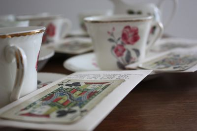 Tea-cup planter seed packets - 4