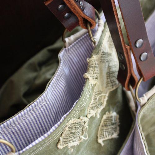 Military canvas utility bag  - 1