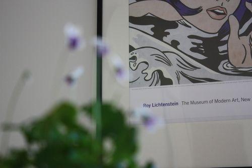 Violets & MoMA - 4