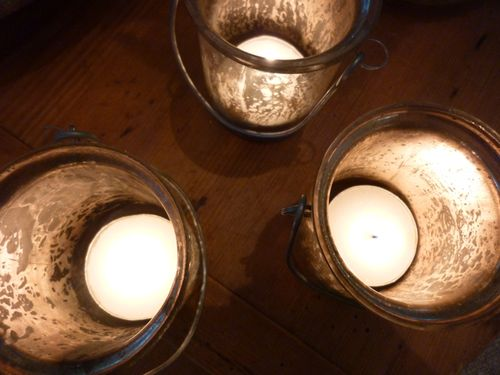 Glass votives - 2