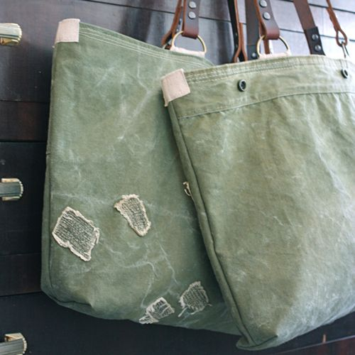 Military canvas utility bag  - 2
