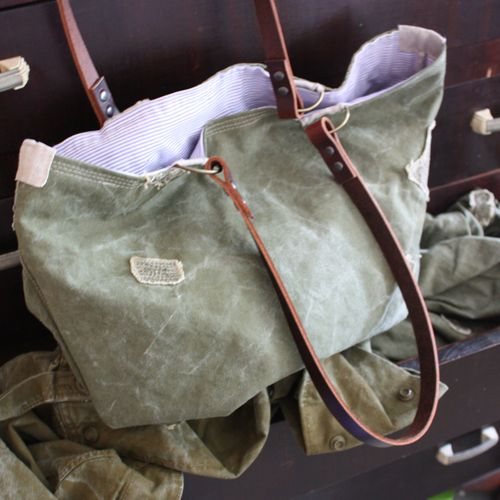 Military canvas utility bag  - 6