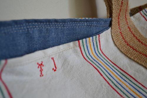 Stripe tote - 2