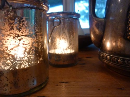 Glass votives - 3