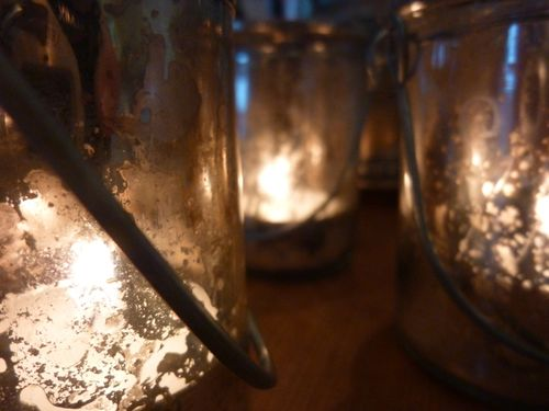 Glass votives - 1