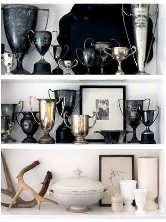 Vintage trophies rolland bello